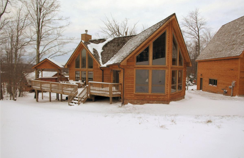 Vacation rental exterior at Slope-Side Accommodation.
