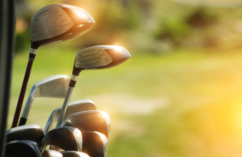 Golf at Moonlight Rentals in Big Sky.