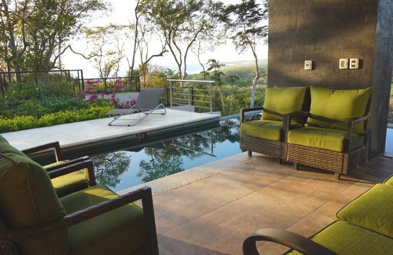 Outdoor pool at Casa Rio Nosara.