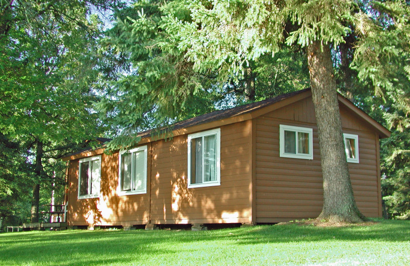The cabins at Half Moon Trail are well maintained.