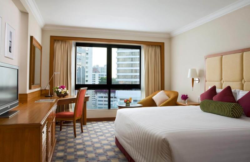 Guest room at Amari Boulevard Hotel.