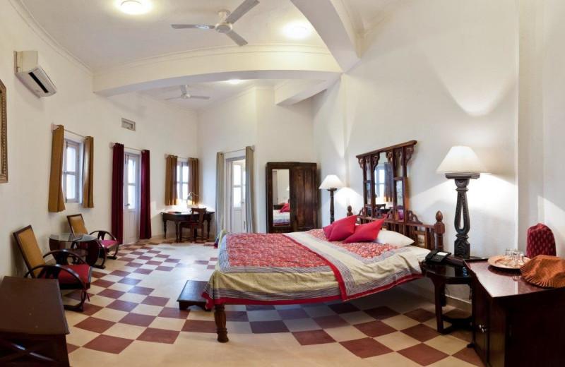 Guest room at Hill Fort of Kesroli.