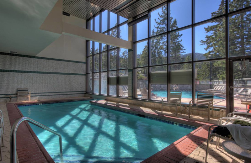 Indoor pool at The Ridge Resorts.