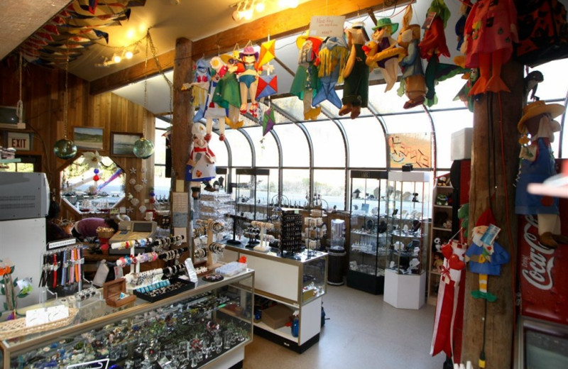 Gift shop at Sandpiper Beach Resort.