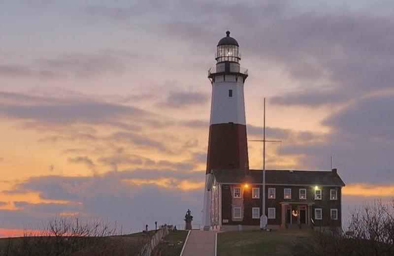 Lighthouse Near Ocean Beach Resort