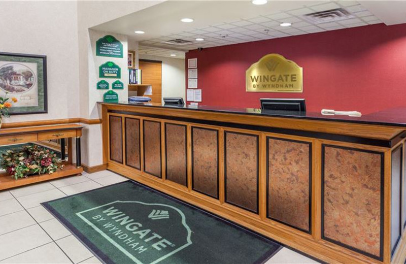Front Desk at Wingate by Wyndham Atlanta/Six Flags Austell