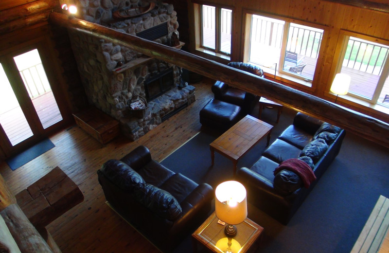 Interior view of Five Lakes Resort.