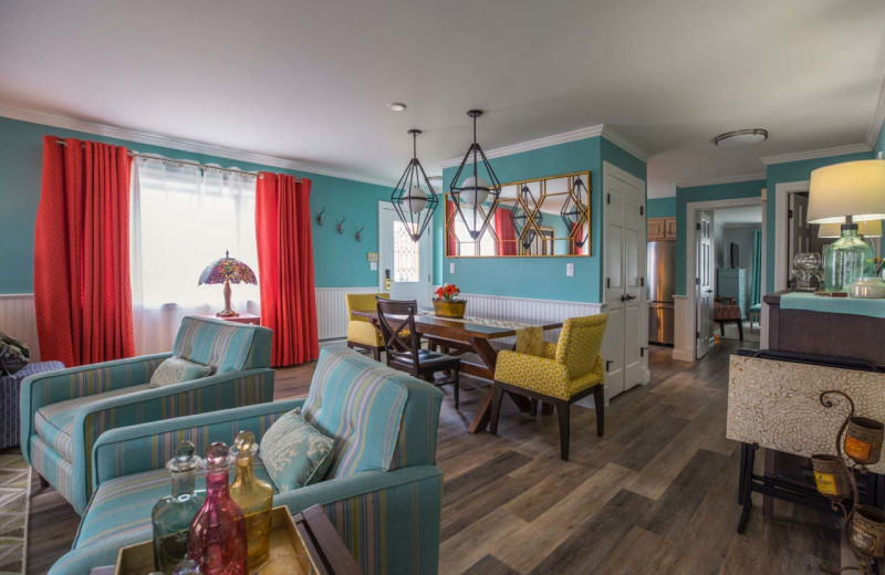 Guest villa at Saybrook Point Inn, Marina & Spa.