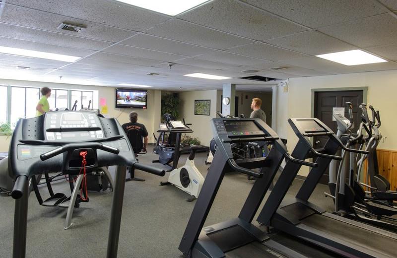 Fitness room at Best Western Silver Fox Inn.