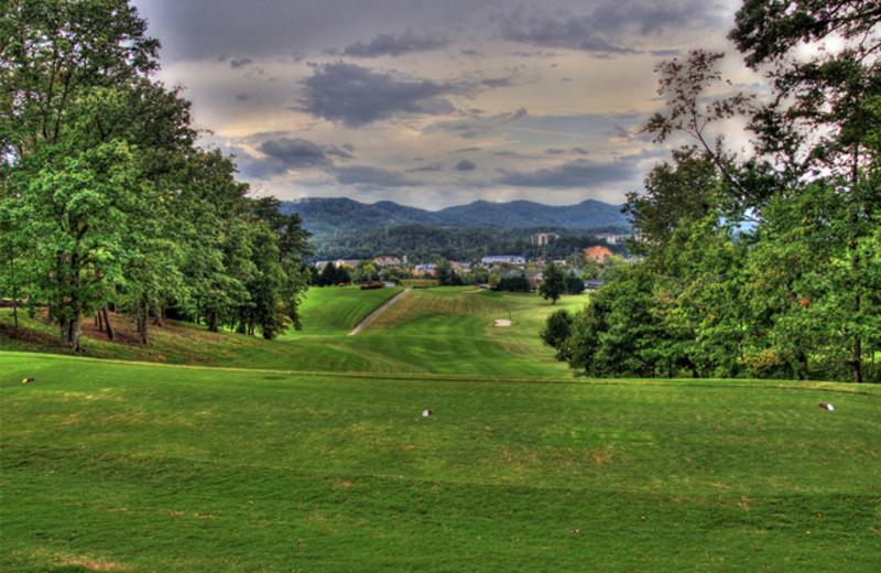 The Gatlinburg Golf Course near SmokyMountains.com.