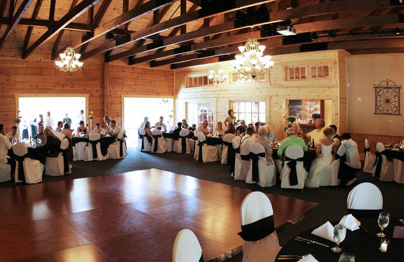Dance floor at House Mountain Inn.