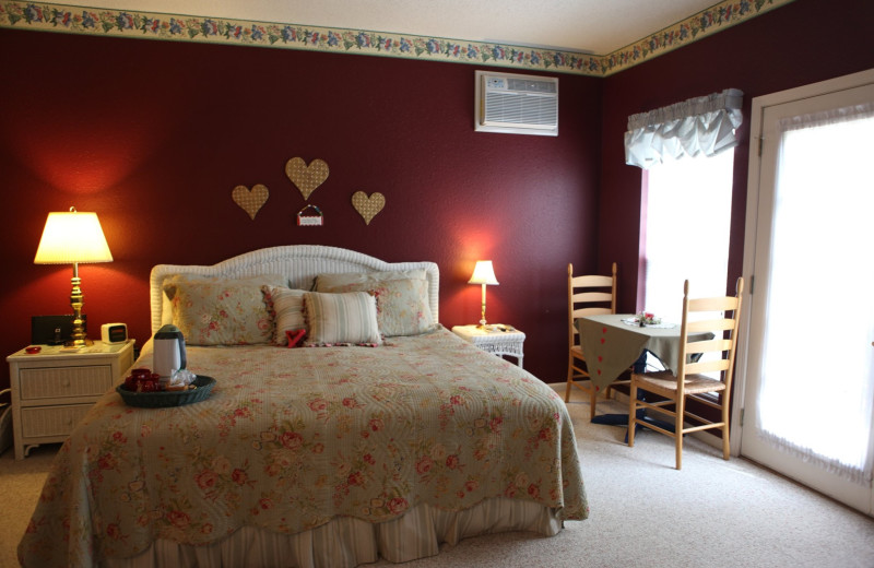 Guest room at The Inn at Harbour Ridge Bed and Breakfast.