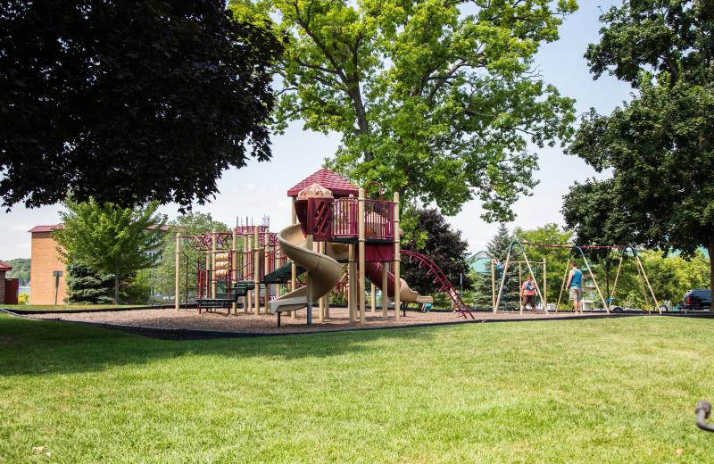 Playground near Harbor Shores on Lake Geneva.