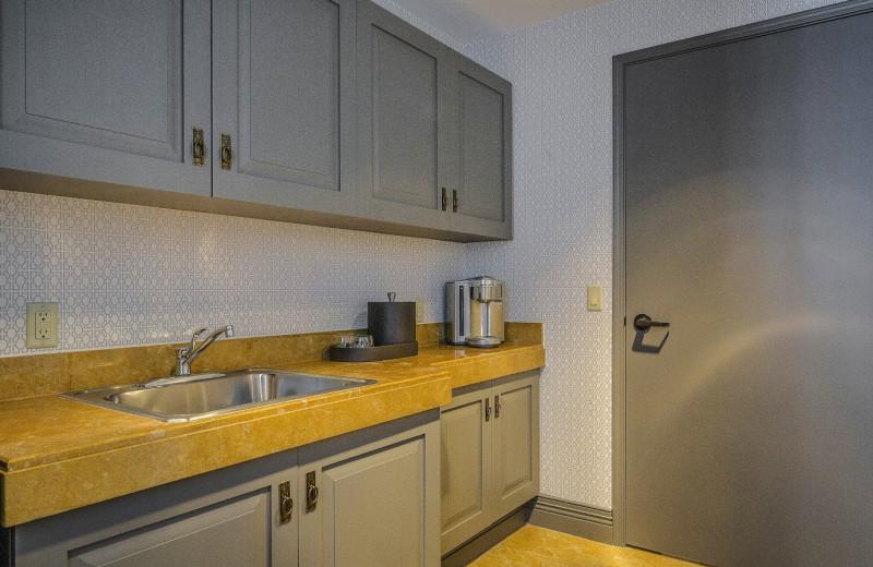 Suite kitchen at Manchester Grand Hyatt San Diego.