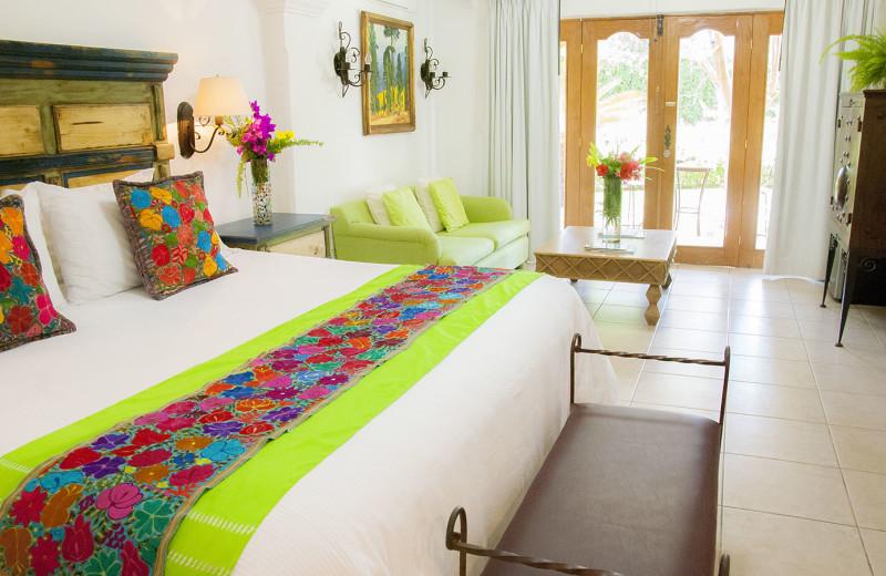 Guest room at Encanto Inn Hotel & Suites.