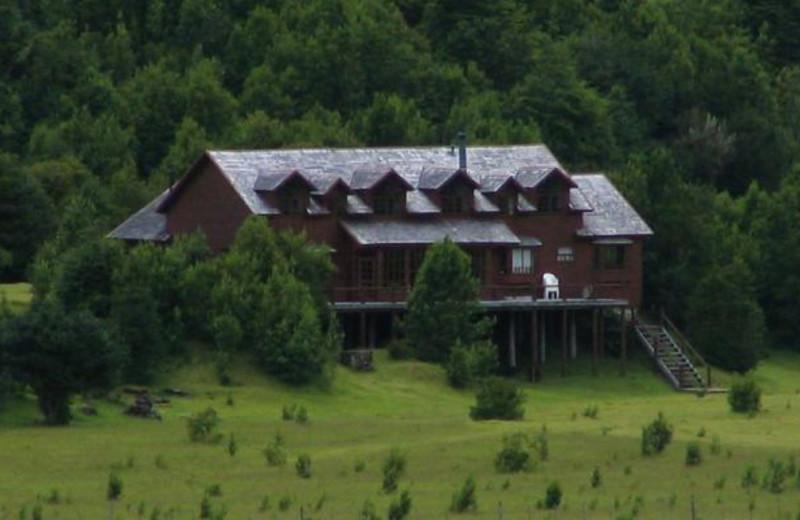 Exterior view of Rio Palena Lodge.