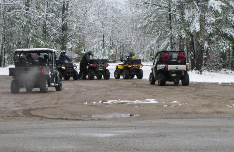 ATV at Buckhorn Resort.