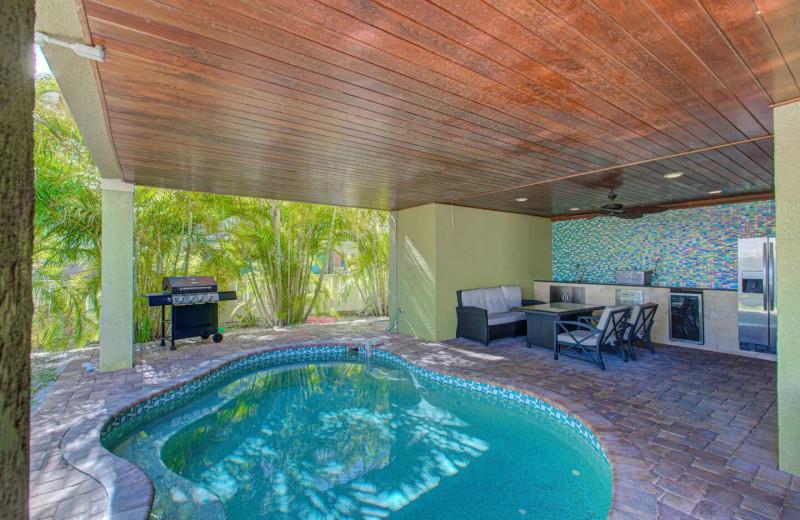 Rental pool at Anna Maria Island Beach Rentals, Inc.