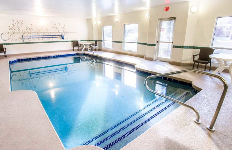 Indoor pool at Sleep Inn Flagstaff.