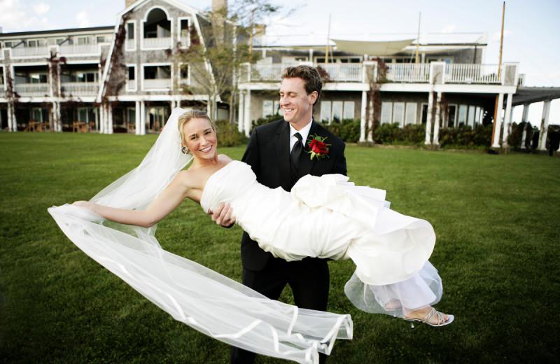 Wedding at Winnetu Oceanside Resort.