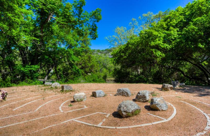 Sand maze at Mo-Ranch.