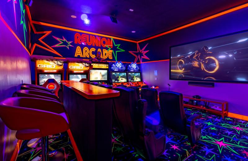 Rental arcade at Reunion Vacation Homes.