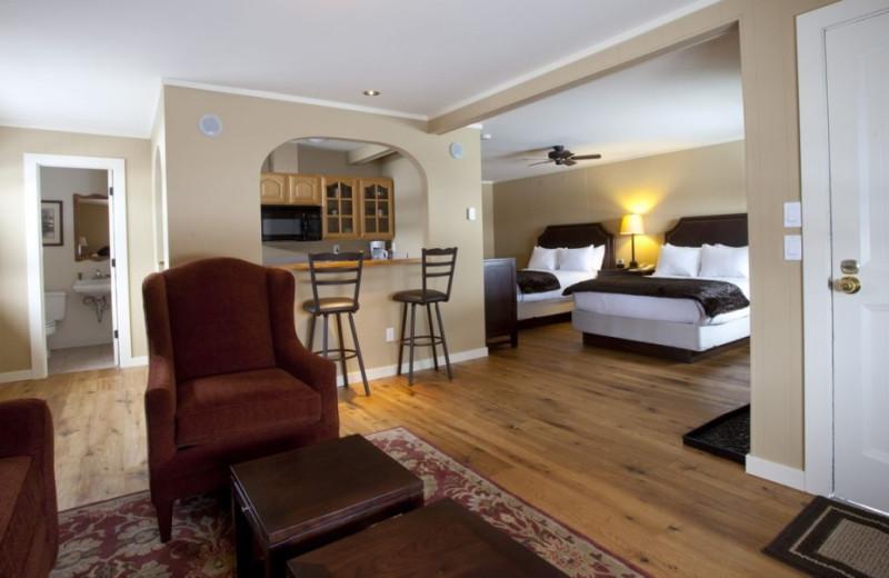 Suite interior at The Nordic Inn.
