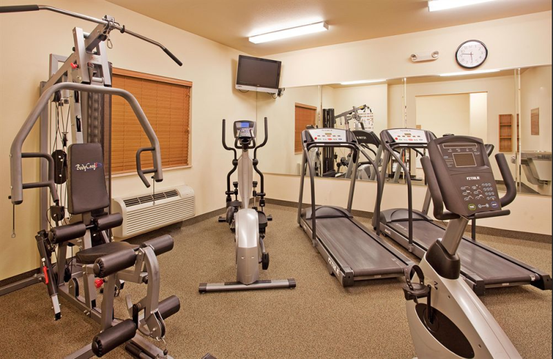 Fitness center at Candlewood Suites Springfield.