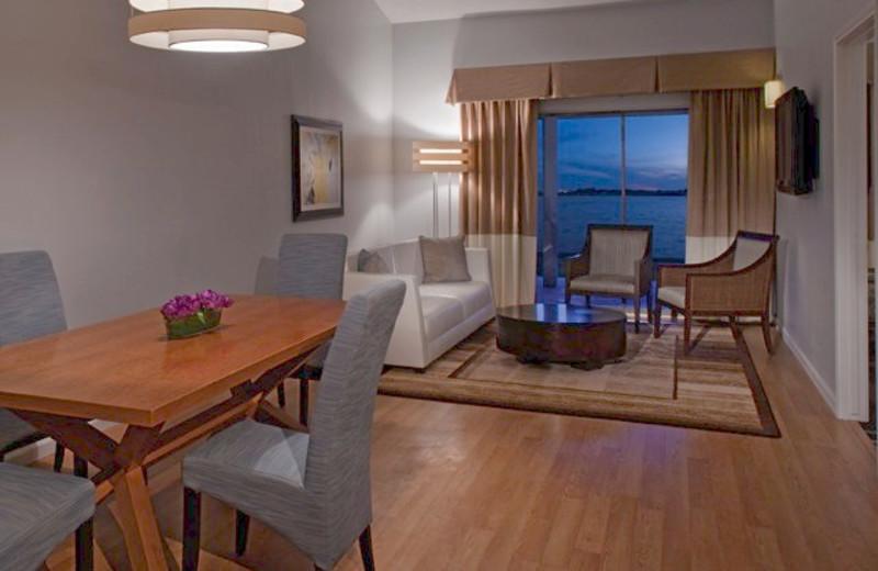 Suite interior at La Torretta Lake Resort