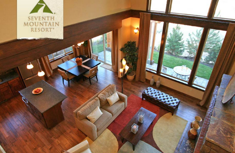 Townhome Interior at Seventh Mountain Resort