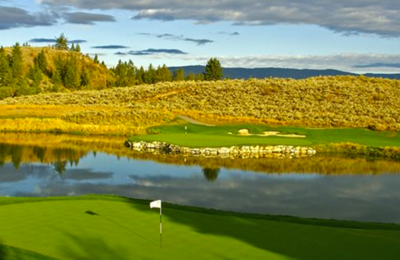 Golf course at Castle on the Mountain.