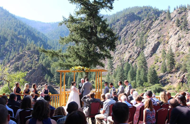 Weddings at Quinn's Hot Springs Resort