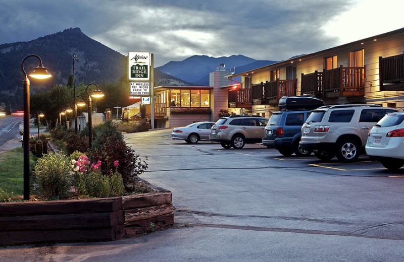 Exterior view of Alpine Trail Ridge Inn.