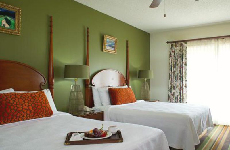 Guest room at Celebration Hotel.