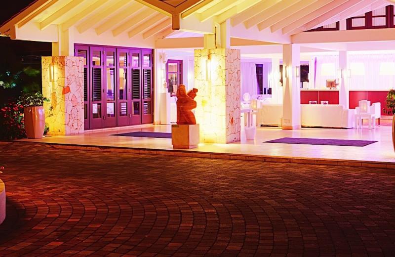 Exterior view of Floris Suite Hotel Curacao.
