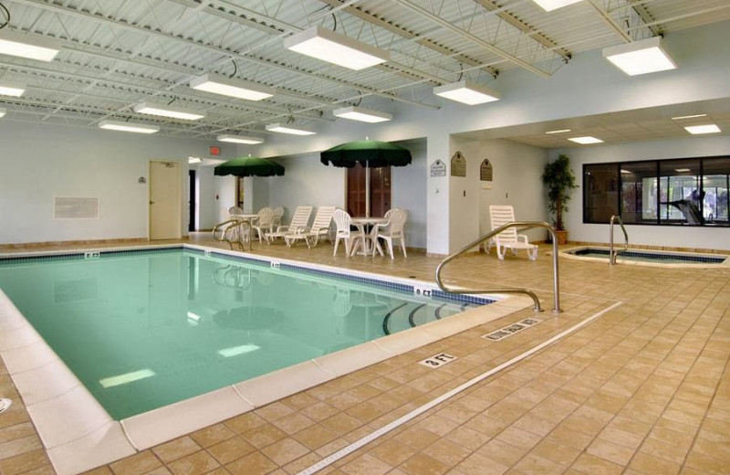 Indoor pool at Wingate by Wyndham Erie.