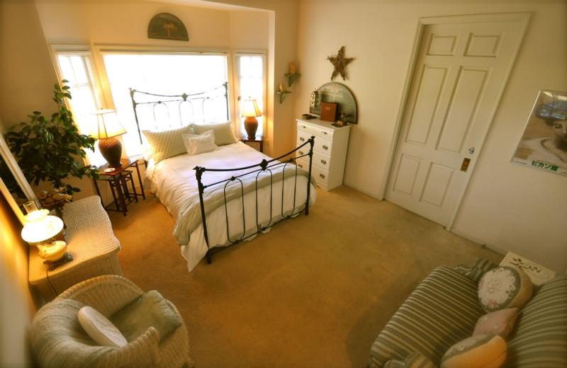 Guest room at Oleander House Bed & Breakfast.