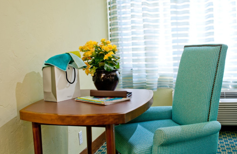 Desk in Room at Carmel Mission Inn