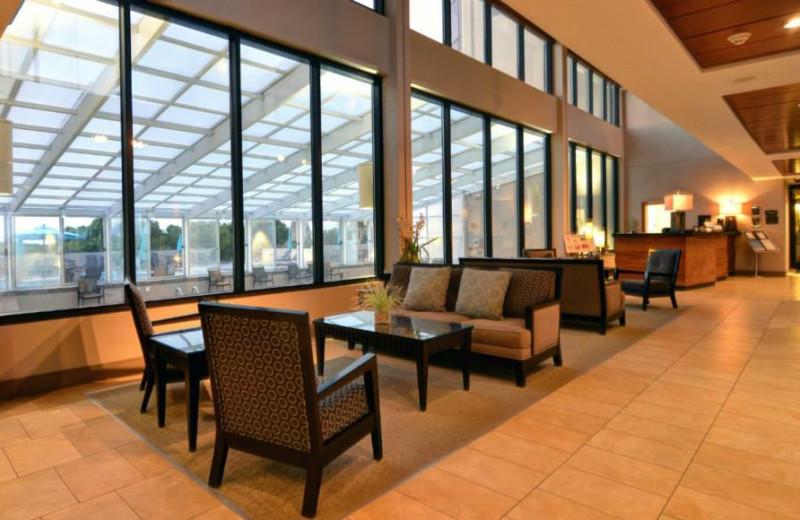 Lobby view at Shell Island Resort.
