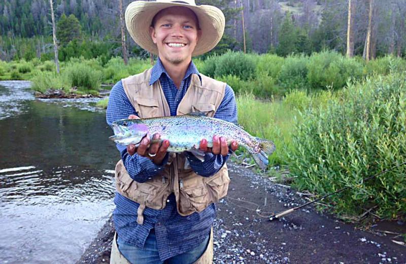 Fishing at T Cross Ranch.