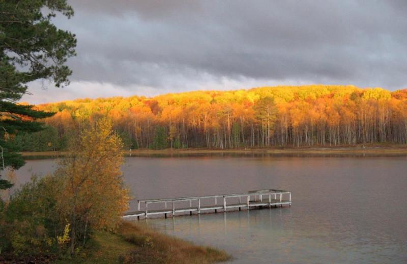 Beautiful Fall View at Fairway Inn