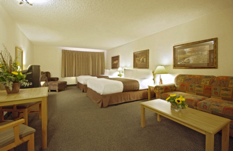 Guest Room at Kelly Inn West Yellowstone Hotel