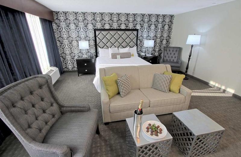 Guest suite at Hilton Garden Inn Westbury.