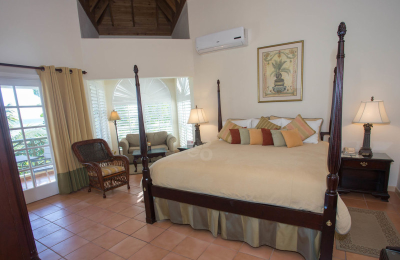 Guest room at Coyaba Beach Resort and Club.