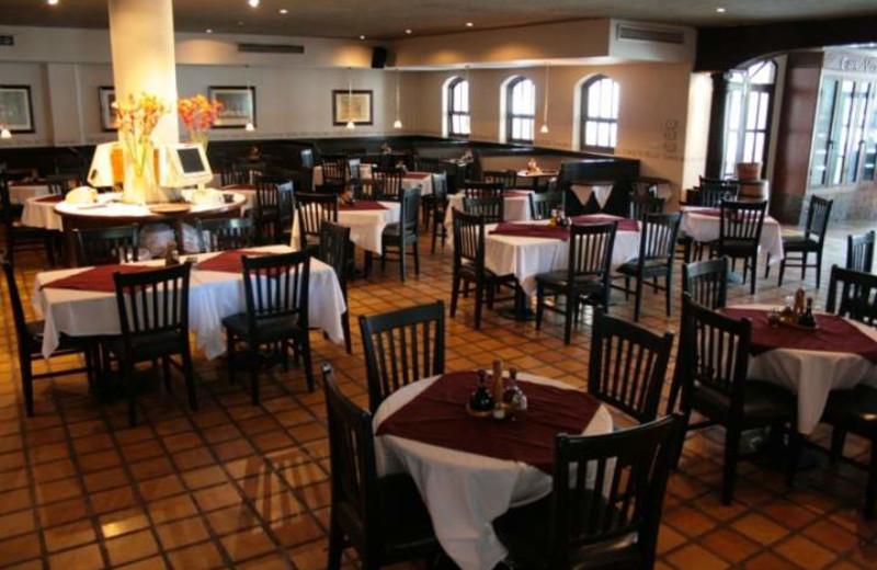Dining at Los Sabalos Mazatlan Hotel.