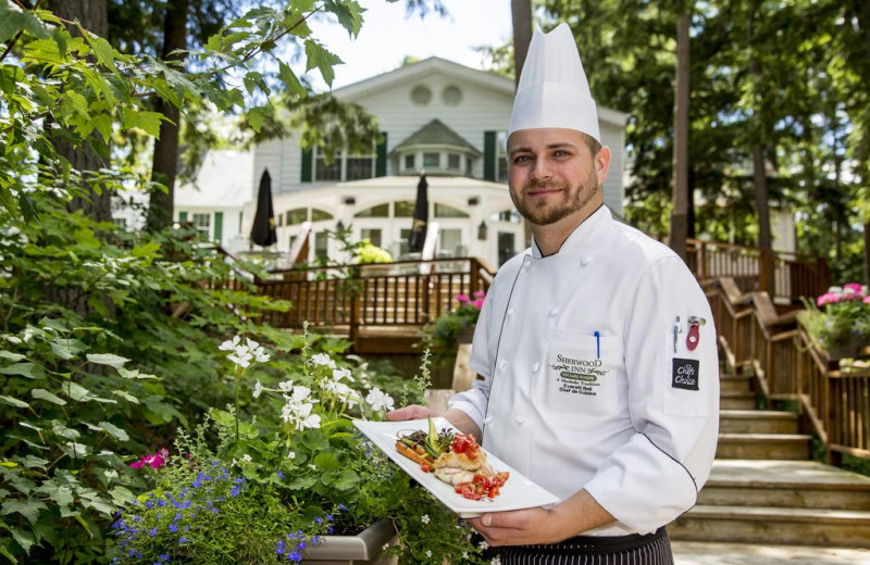 Chef at Sherwood Inn.