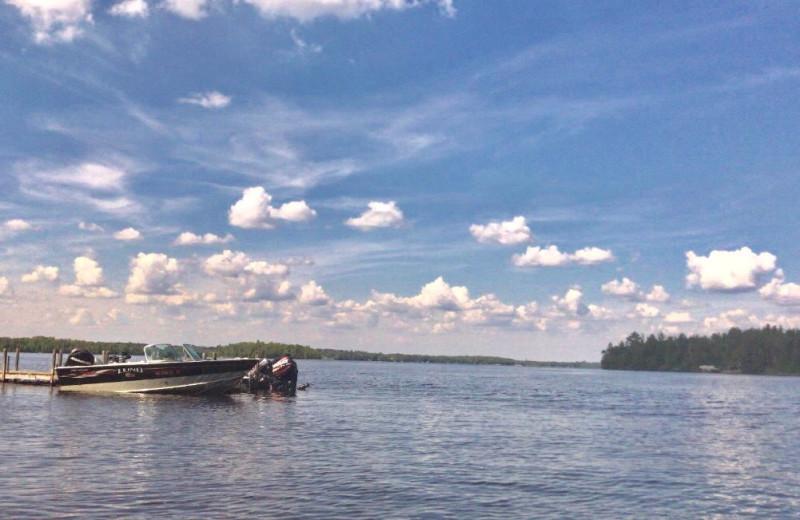 Lake view at Glenmore Resort.