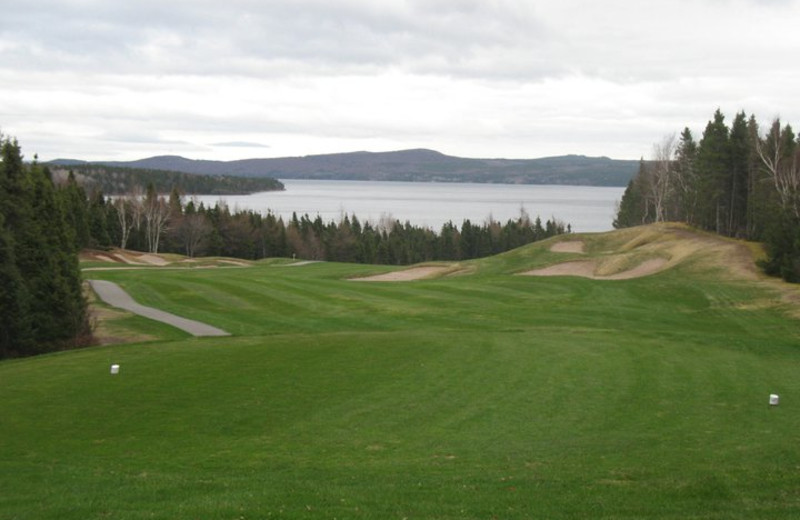 Golf course at Terra Nova Park Lodge and Golf Course.