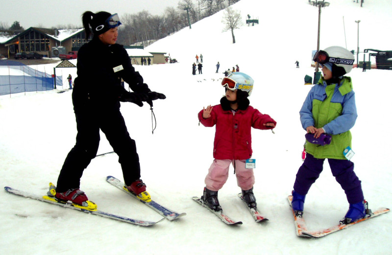 Skiing at Grand Geneva Resort.