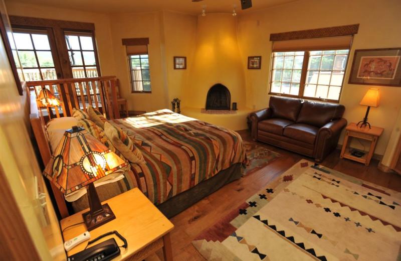 Anasazi Penthouse Suite at Inn on La Loma Plaza.